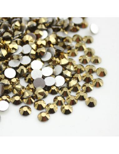 Metallic Gold SS10 - (2.4 - 2.80mm)