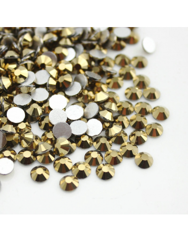 Metallic Gold SS16 - (3.2 - 3.60mm)