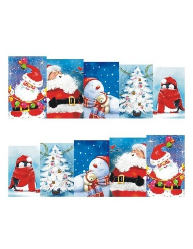 Water Decals Natale N239