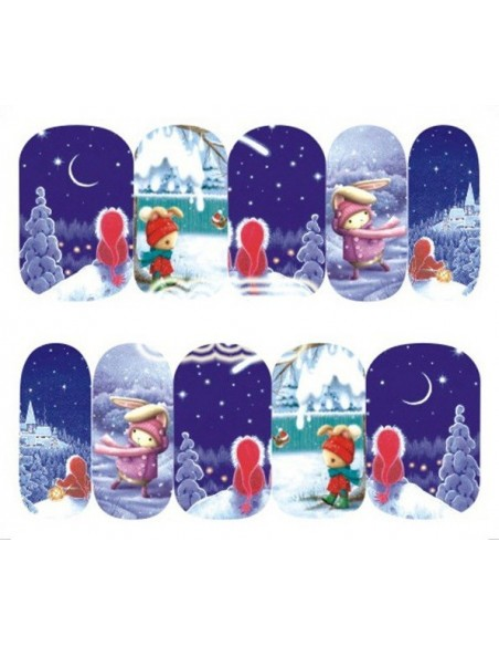 Water Decals Natale A177