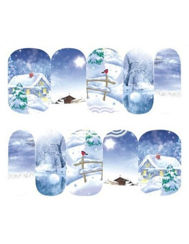 Water Decals Natale A183