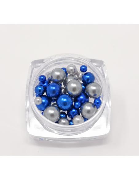 Perle 3 Misure Metallic Blue