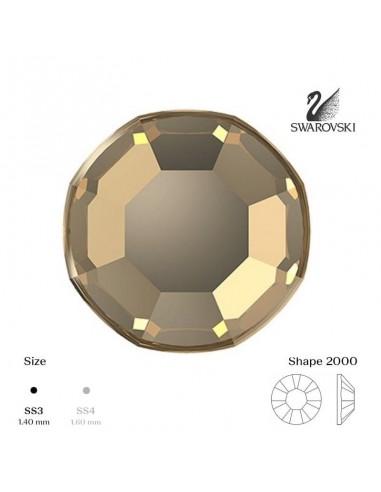 Swarovski® 2000 Golden Shadow SS3 (1,35-1,50mm)