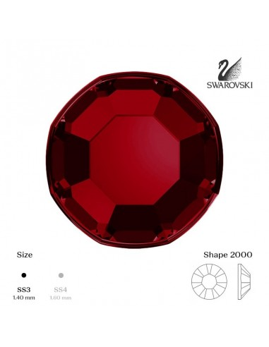 Swarovski® 2000 Indian Siam SS3 (1,35-1,50mm)