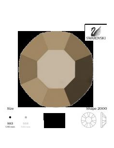 Swarovski® 2000 Metallic Gold SS3 (1,35-1,50mm)