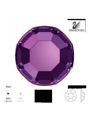 Swarovski® 2000 Amethyst SS3 (1,35-1,50mm)