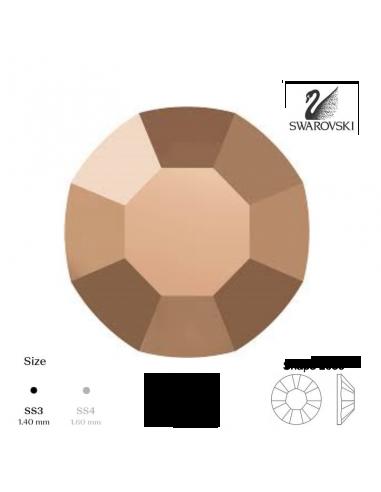 Swarovski® 2000 Rose Gold SS3 (1