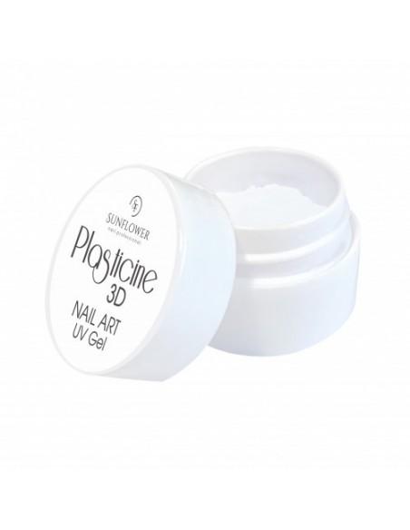 PLASTICINE GEL PLASTILINA 3D WHITE
