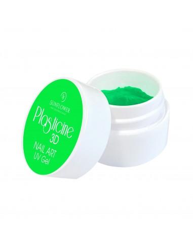 PLASTICINE GEL PLASTILINA 3D GREEN