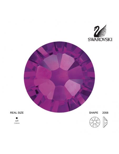 Swarovski® 2058 Amethyst SS9 (2.50-2.70mm)