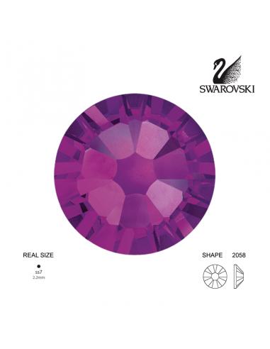 Swarovski® 2058 Amethyst SS7 (2.10-2.30mm)