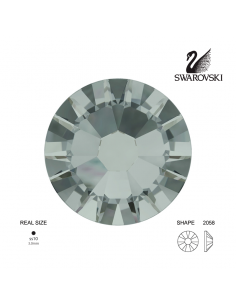 Swarovski® 2058 Black Diamond SS10 (2.70-2.90mm)