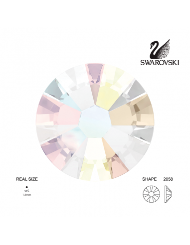 Swarovski® 2058 Aurora Boreale SS5 (1.70-1.90mm)