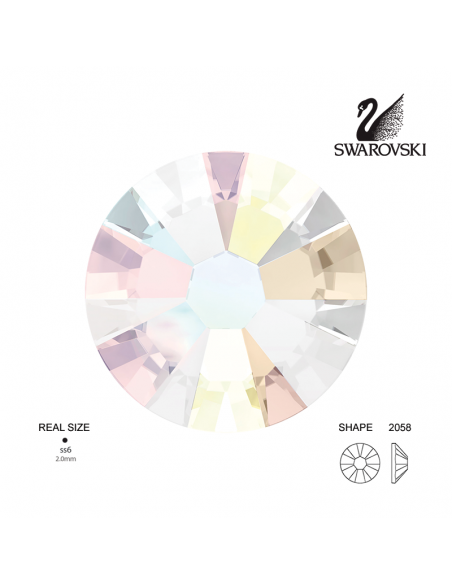 Swarovski® 2058 Aurora Boreale SS6 (1.90-2.00mm)