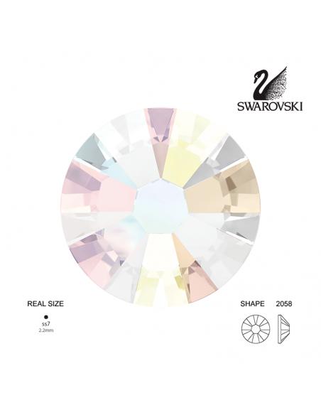 Swarovski® 2058 Aurora Boreale SS7 (2.10-2.30mm)