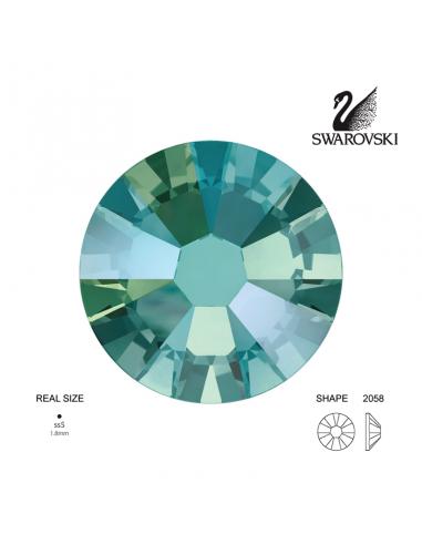 Swarovski® 2058 Black Diamond Shimmer SS5 (1.70-1.90mm)
