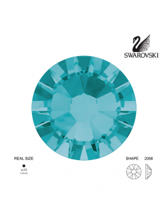 Swarovski® 2058 Blue Zircon SS10 (2.70-2.90mm)