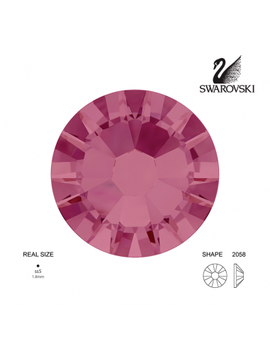 Swarovski® 2058 Burgundy SS5 (1.70-1.90mm)