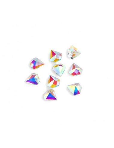 Crystal Diamond Aurora Boreale 6x6mm