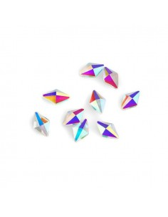 Crystal Rhombus 6x10mm