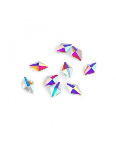 Crystal Rhombus 6x10mm