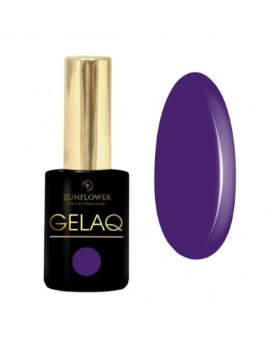 Gelaq Hybrid Color 243 Dark Violet Plum Sun Flower 9ml