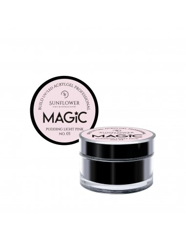 MAGiC AcrylGel  Builder Professional Pudding Light Pink