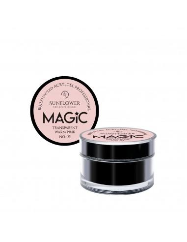 MAGiC AcrylGel Builder Professional Transparent Warm Pink