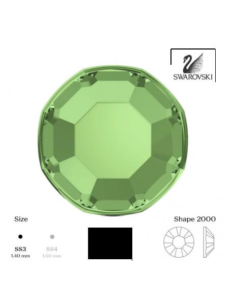 Swarovski® 2000 Peridot SS3 (1,35-1,50mm)