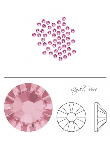 Swarovski® 2058 Light Rose SS5 (1,70-1,90mm)