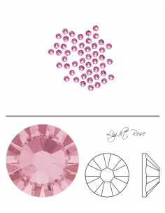 Swarovski® 2058 Light Rose SS7 (2.10-2.30mm)