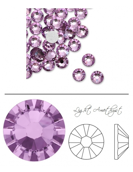 Swarovski® 2058 Light Amethyst SS6 (1,90-2,00mm)