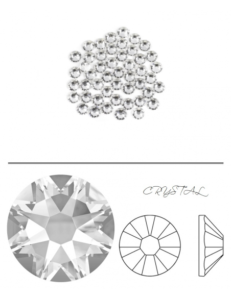 Swarovski® 2058 Crystal SS7 (2.10-2.30mm)